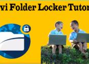 Anvi Folder Locker Tutorial