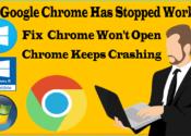 Fix Google Chrome Has Stopped Working Windows 10/8/7?✔Fix Chrome Won't Open✔Chrome Keeps Crashing