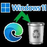 How To Uninstall Microsoft Edge Chromium From Windows 11?