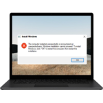 How To Fix The Computer Restarted Unexpectedly Or Encountered An Unexpected Error. Windows Installation Cannot Proceed Error?